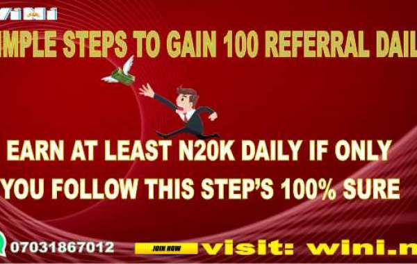 HOW TO GET REFERRAL WITHOUT MUCH STRESS AND MAKE MONEY ONLINE - AT LEAST ₦20K DAILY