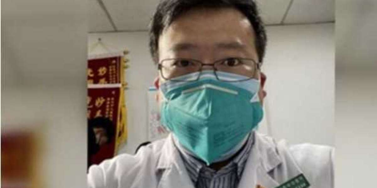 Announcement of the death of doctor Li Wenliang