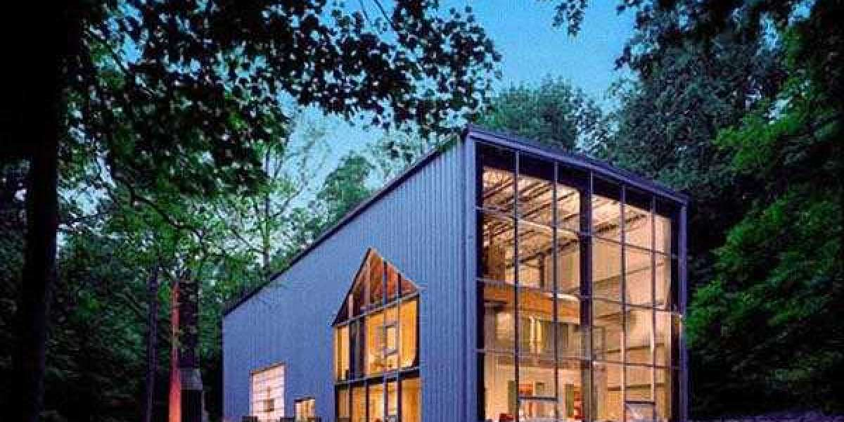 Flat-pack container house fully equipped