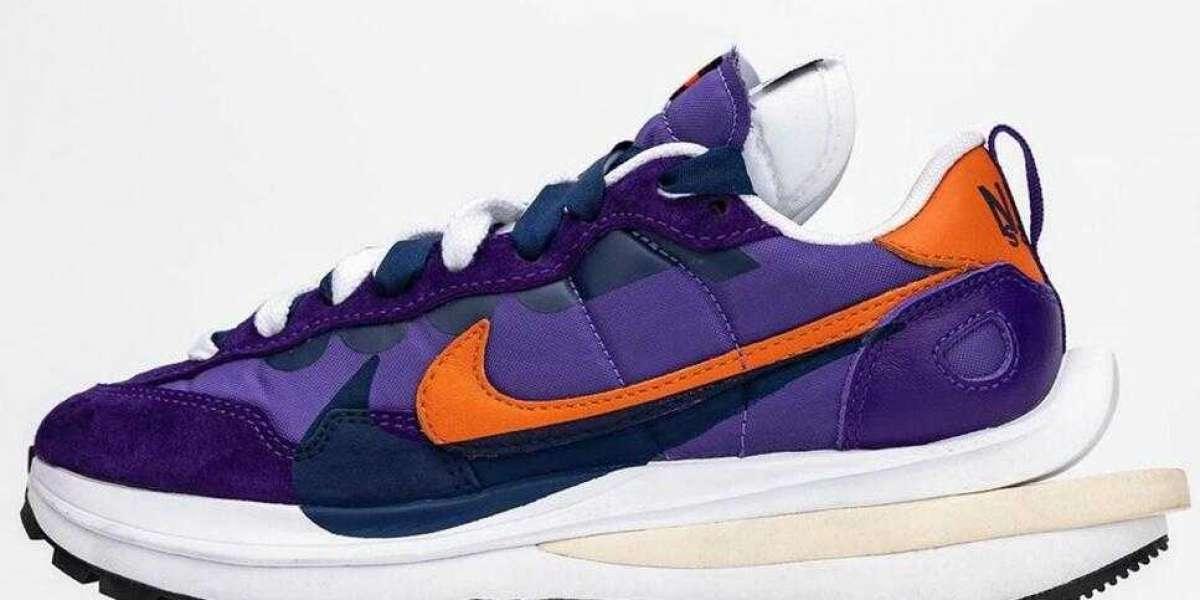"The Latest sacai x Nike VaporWaffle ""Dark Iris"" Releasing For SS21"