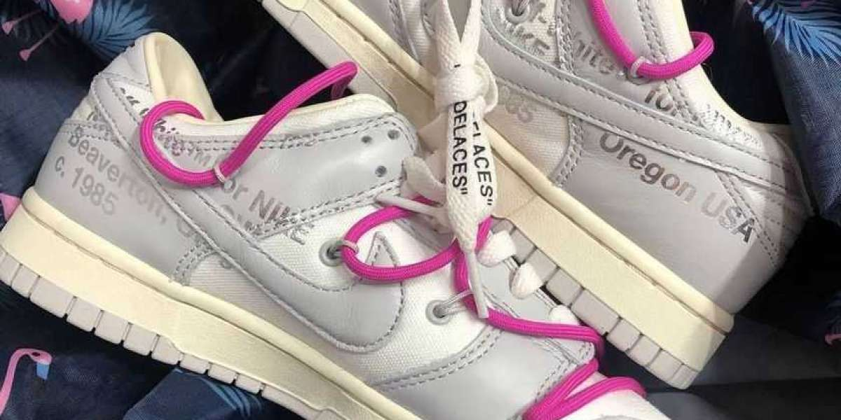 """Off-White x Nike Dunk Low """"THE 20"""" will be released in autumn"""