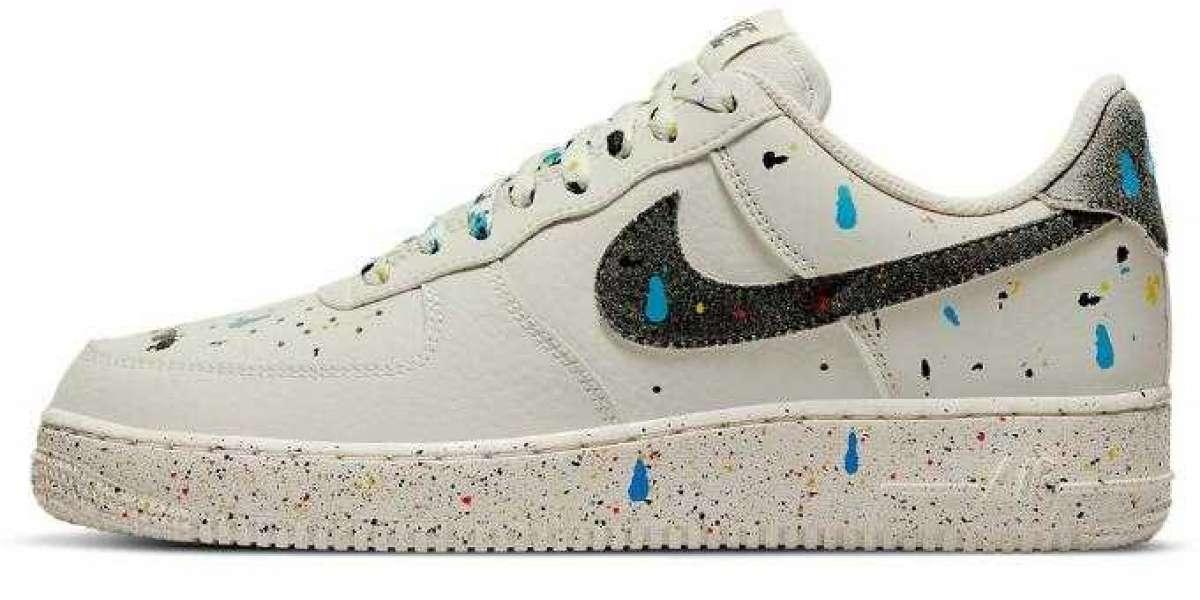The 2021 New Air Force 1 Low Coming With Splashes Paint