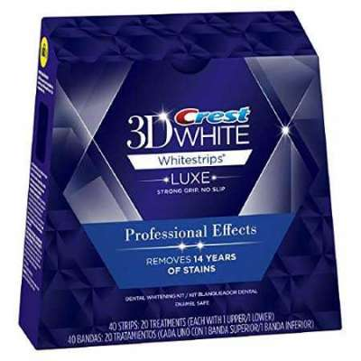 Crest 3D White Luxe Tandblegningsstrips med Professionel Virkning – Crest Whitestrips Blegning på Pr Profile Picture