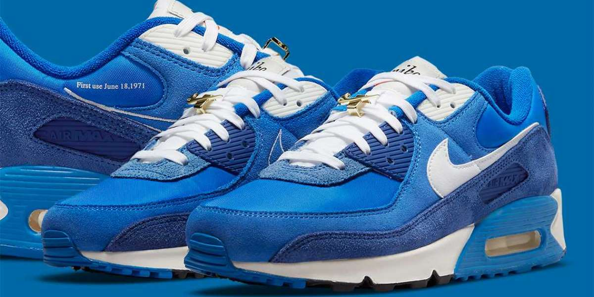 "DB0636-400 Nike Air Max 90 SE ""First Use"" will be released this summer or early fall"