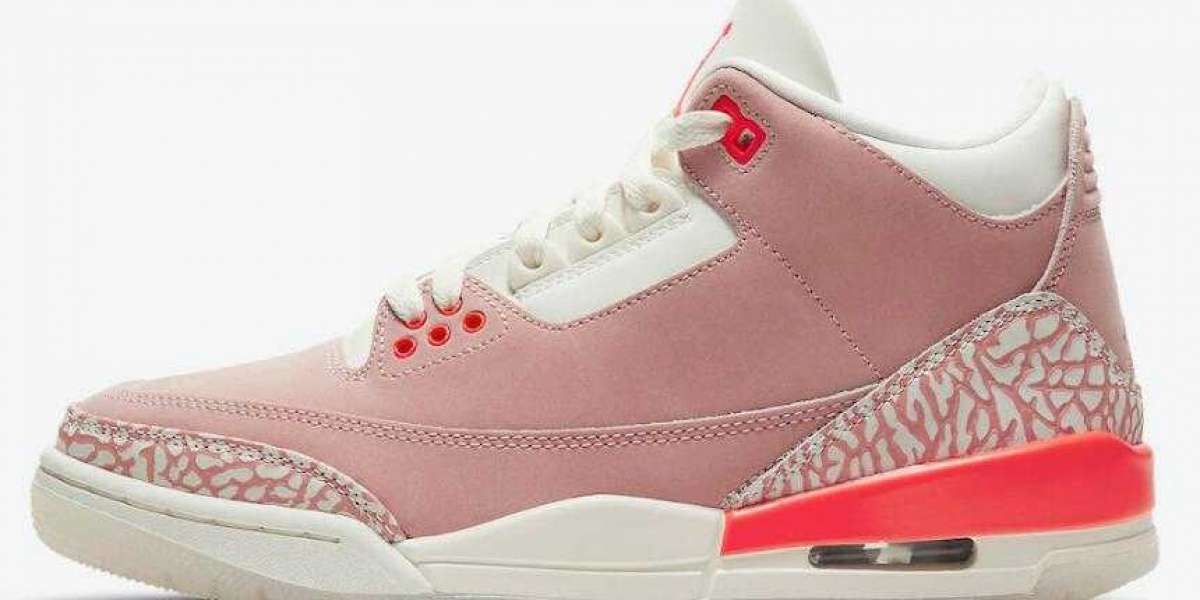 Dont Missed the New Coming Air Jordan 3 WMNS Rusty Pink