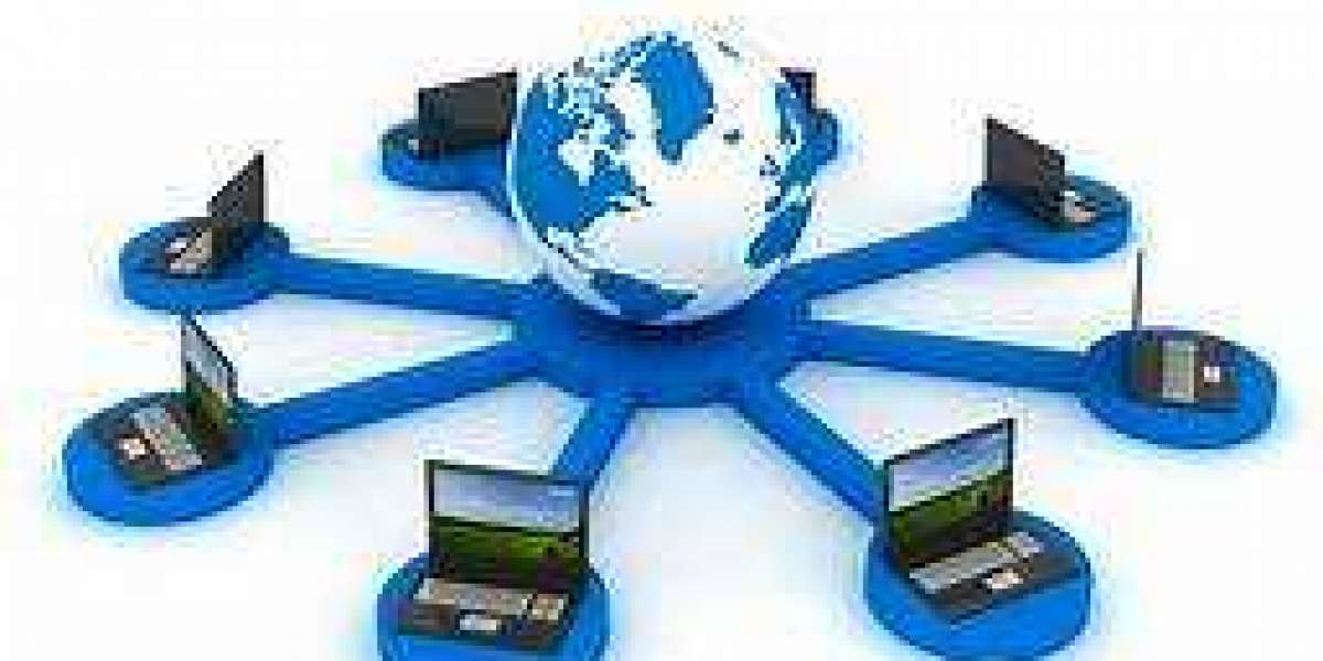 What does it mean to have a computer network?