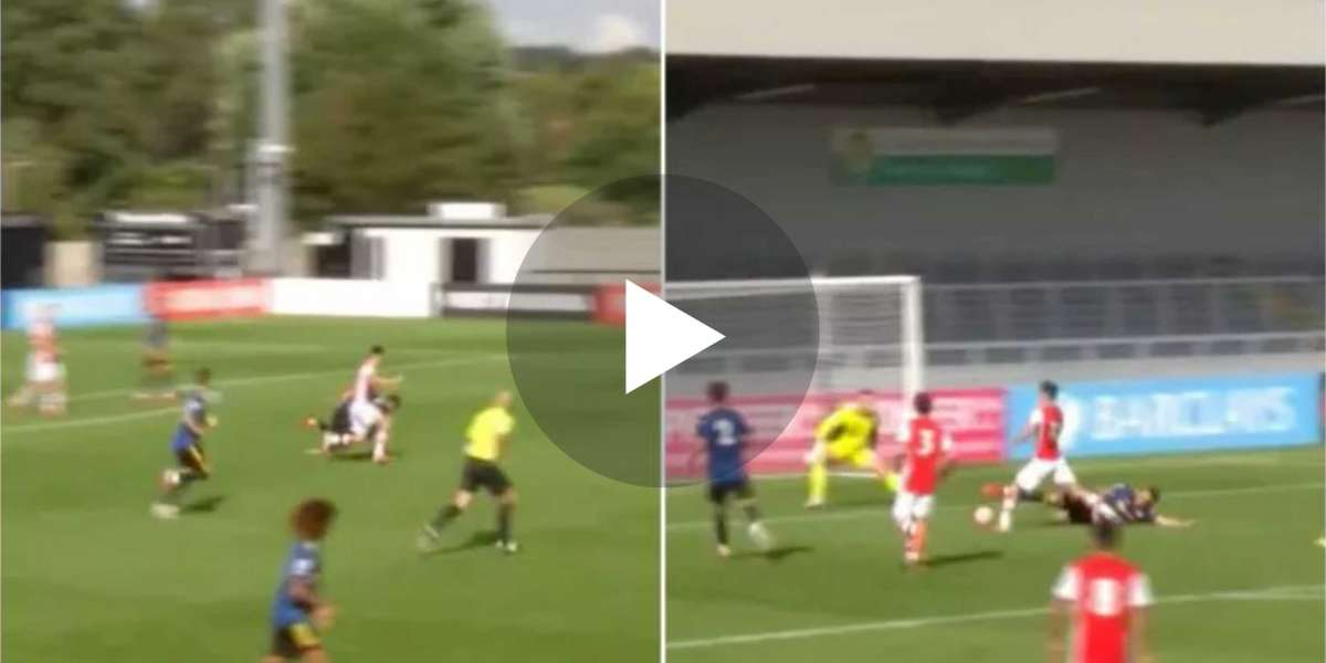 Video: Arsenal wonderkid Charlie Patino lobs Dean Henderson in magnificent Under-23s solo goal against Manchester United