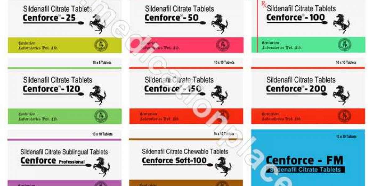 Cenforce Review - A Reliable Penile Enlargement Medicine